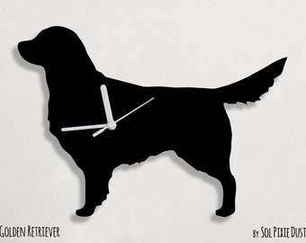 Golden Retriever Dog - Wall Clock