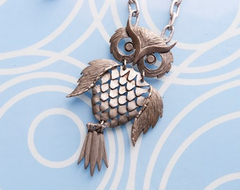 Cool Owl Necklace