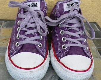 Purple Chuck Taylor's Converse All Star