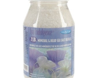 Mineral and Dead Sea Bath Salt Refills, 2 lb