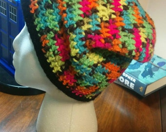 Neon Slouchy Crochet Beanie SALE 20% OFF