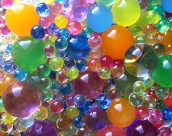 Get Them All Magic Grow In Water Jelly Pearl Jumbo /LG / SM / 3D  for FORZEN Party Orbeez Refill Baby Shower Wedding Decor
