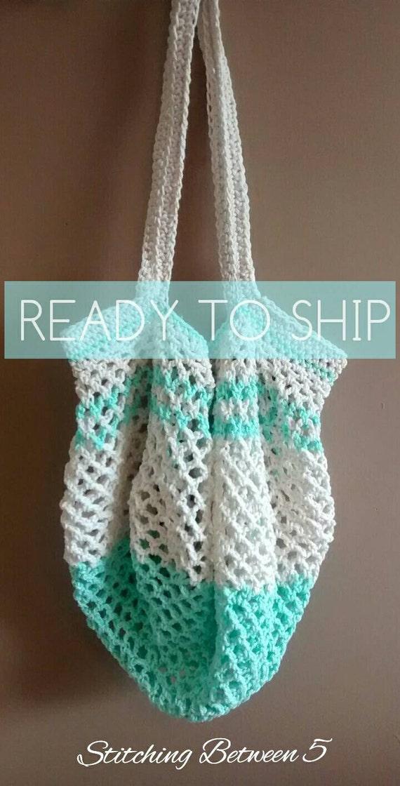 Items similar to Crochet Market Bag (produce bag) (farmers ...