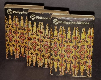 Vintage Wooden Matchsticks from Philippine Airlines