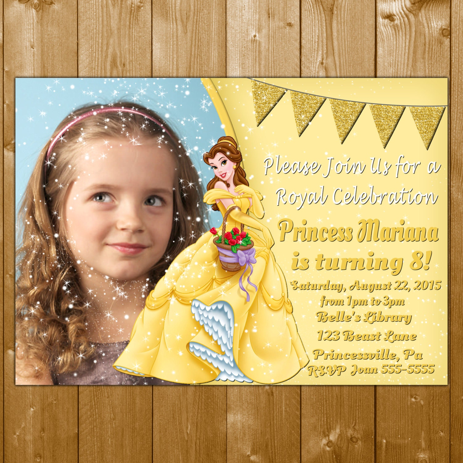 Belle invitation princess belle invitations belle invitation belle invitation princess belle invitations belle invitation belle birthday invitation photo with glitter sparkles belle invite filmwisefo Images