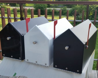 Custom Steel Mailbox with Stainless Steel Hardware