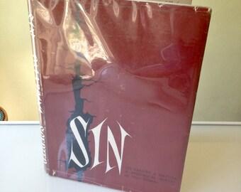Sin (Its Reality and Nature) - ed. Palazzini & Canals 1964 HBDJ Mid Century Catholic