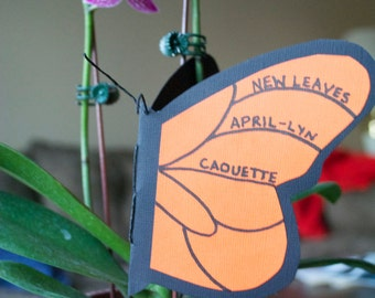 New Leaves by April-Lyn Caouette (Poetry Chapbook by Bitterzoet Press)