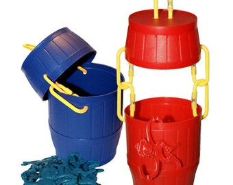Foraging Barrel of Monkeys - Interactive Toy for Sugar Gliders