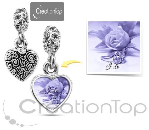 personalized charm for any pandora bracelet memory charm