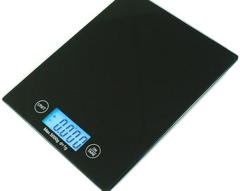 11 LBS x 0.05 OZ Slim Digital Kitchen Scale Touch button Diet Food Scale