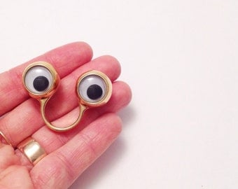 Mini Googly Eye Ring