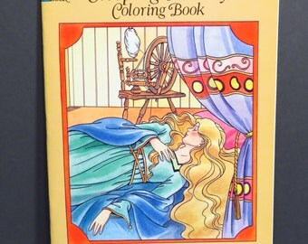 Sleeping Beauty Dover Coloring Book - Grimm Brothers - Illustrated by Thea Kliros