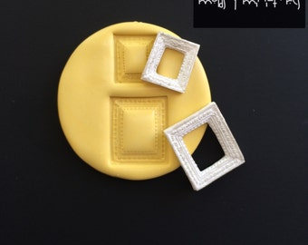Tiny Duo Frame Silicone Mold #1
