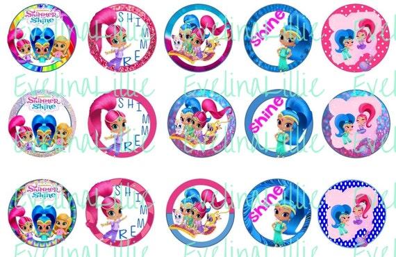 Shimmer and shine bottle cap images digital download nick jr s new