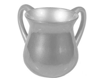 Natla Hand Washing Cup (Natla) - Hand Washing cups (Netilat Yadayim) - Anodized Aluminum- jewish washing cup - home warming gift