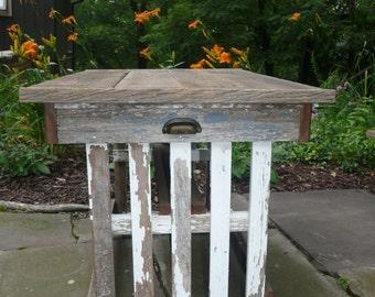 Handmade Shabby Barnwood Table