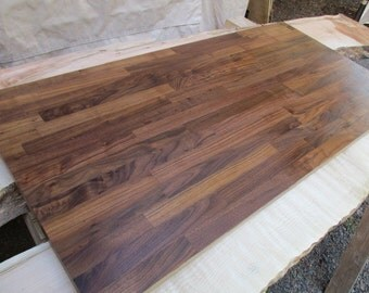 Butcher Block Walnut Desk Top 4 Feet Inches Long 52
