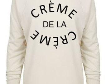Creme De La Creme 3/4 Sleeve Raglan