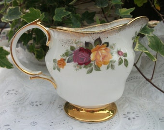 Vintage bone china milk/creamer