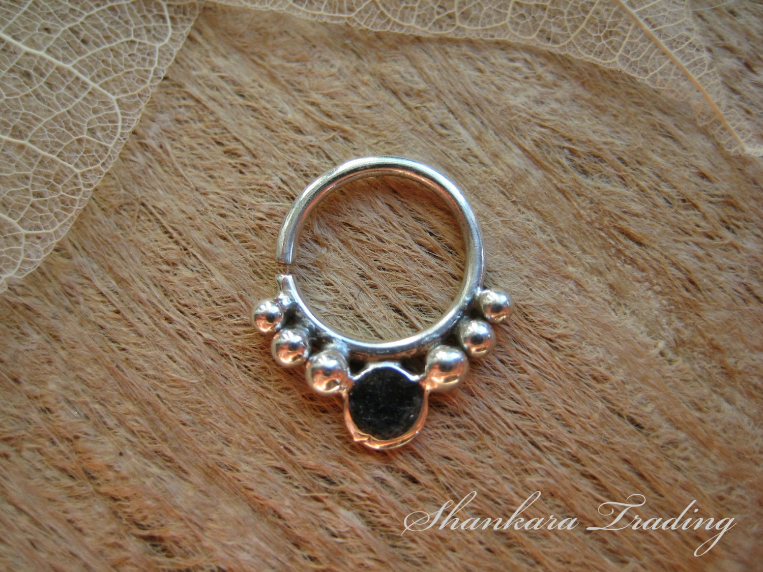 septum ring sterling silver septum jewelry indian septum