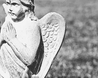 The Angel, Black and White Photography