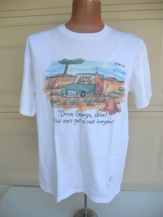 Far Side Shirt 1980s Gary Larson Tee Shirt By