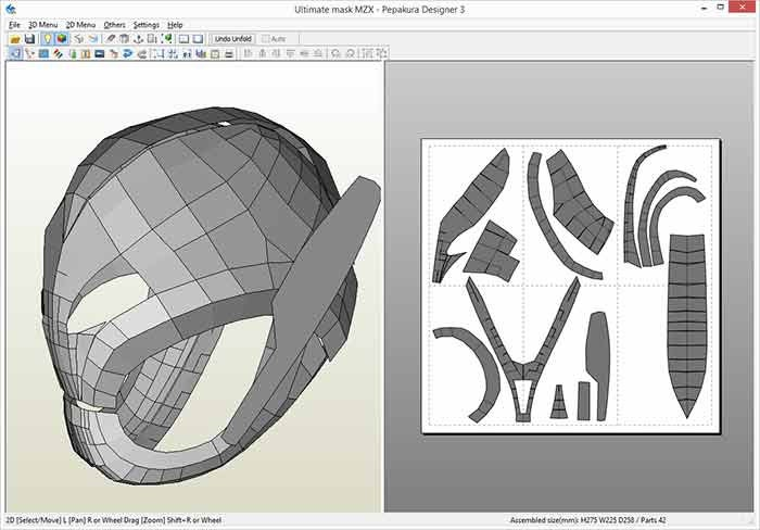 Alien Head Pepakura Files For Mac - linoadry