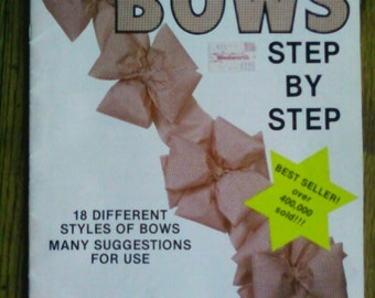 Vintage Bow Making Book