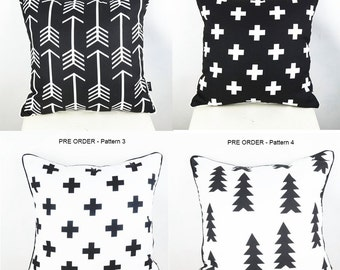 Monochrome Cushion Covers | Covers for kids room, living room, bedroom