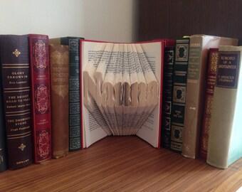 Nanna Folded Book Art