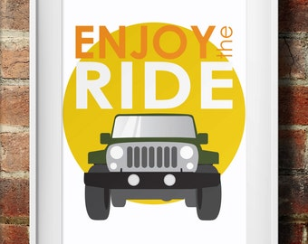 JEEP - Enjoy the Ride print