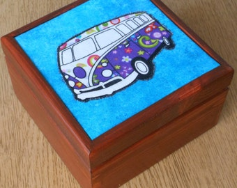 VW Campervan gift/box /jewellery/trinket/keepsake/storage box