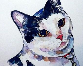 """Elegance........."""" Print Watercolour A3 (30*40cm/16*12 Inches)"""