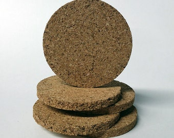 Round, Cork, 2in (5-pack) Display Bases
