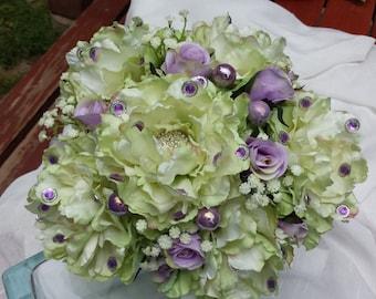 Lime Peony Bouquet!