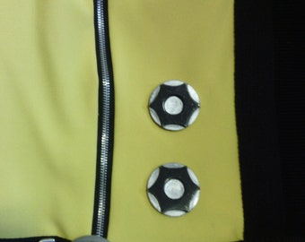 Magneto X-Men Costume 1st Class Cogs Accent Pieces For Jump Suit (Hard to Find)
