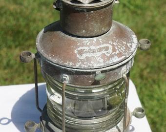 Vintage Ankerlicht Ankerlight Nautical Ship Light Lantern