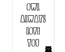 Card Owl Quote