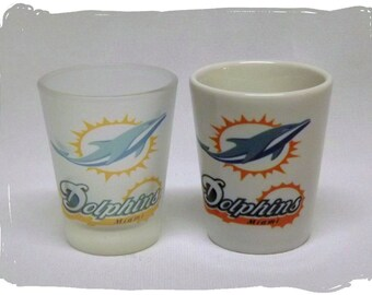 Miami Dolphins Shot Glass _ New Logo