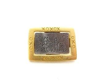 Vintage JJ Jonette Collectable Brooch / Jonette Jewelry