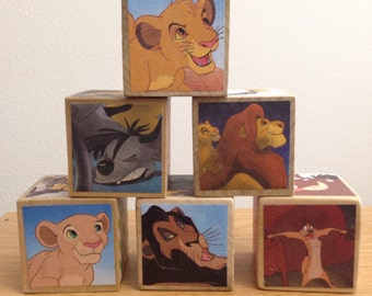 Lion King storybook blocks
