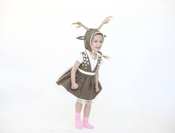 kids halloween costume deer girl