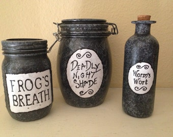 Sally's Jars from The Nightmare before Christmas