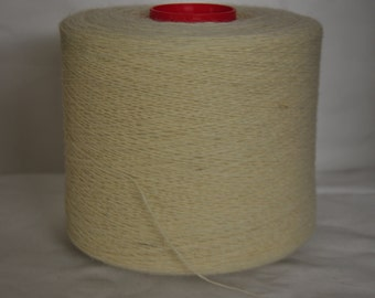 1 spool 1 kg wool nylon color nature nm 18 knitting yarn on a cone