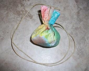 Tranquility Shaman Medicine Bag Necklace