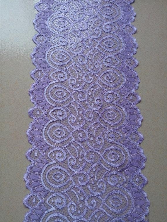 Lavender Lace Table Runner 7 Wedding Table Runner