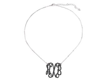 Monogram Acrylic Necklace/ Necklace/ Initial Necklace