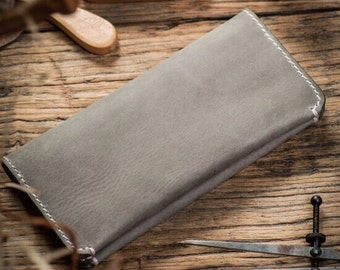 Travel wallet, handmade leather wallet, passport case, ticket holder, travel case, leather passport holder