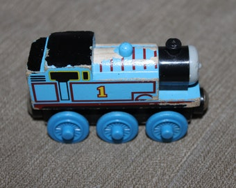 Thomas from Thomas the Train Piece, Magnetic on both ends, Engine Numbered 1